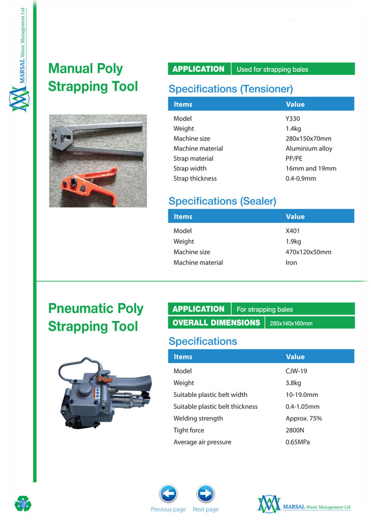 Compactor Parts and Accessories