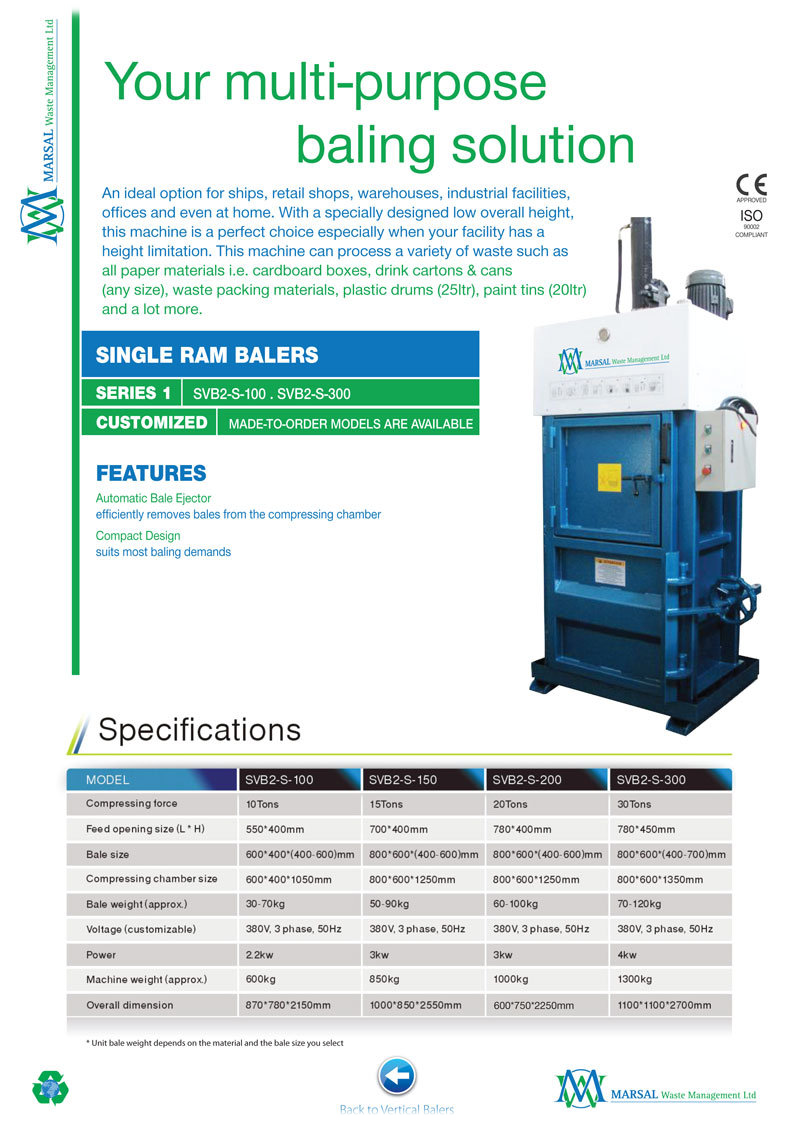 Multi Purpose Hydraulic Waste Compactor